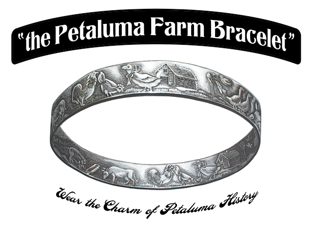 The one and only Petaluma Farm Bracelet