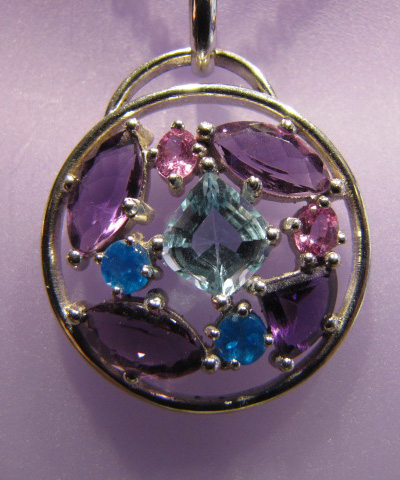Amathyst Pendant by Rick Rocklin