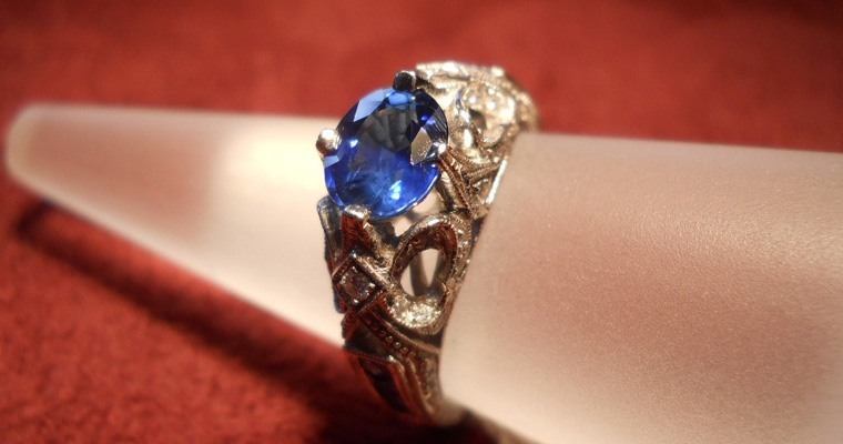 One of Rick Rocklin's rings