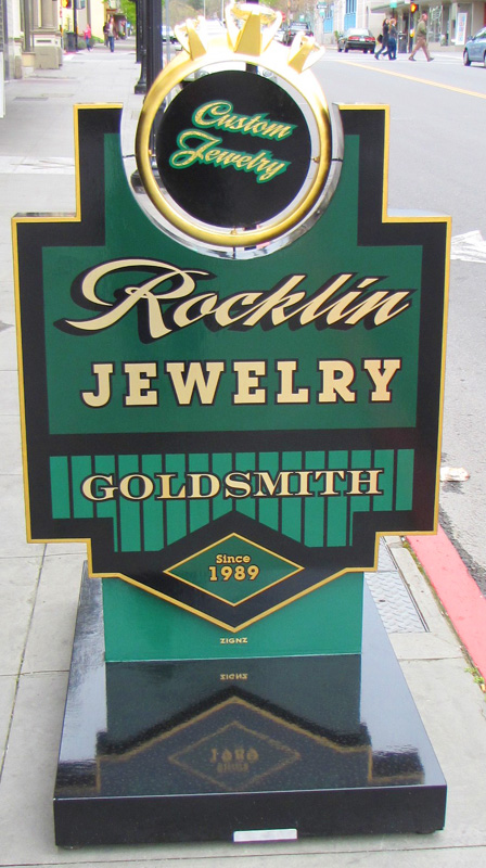 Rocklin Jewelry in downtown Petaluma